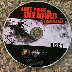 Other - live free or die hard unrated dvd